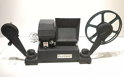 Vintage Argus Fairfield 8mm Film Movie Editor, Works
