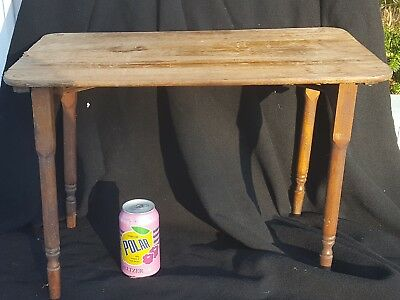 Antique Child's / Doll Folding Sewing Table Late 1800's