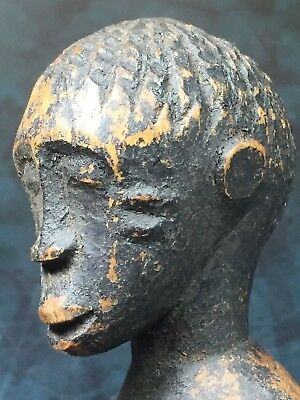 Outstanding Old Human Ape Woman .99¢ N.R. #5 of 5 Small African Statues