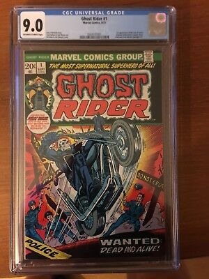 Ghost Rider #1; CGC 9.0; Off-White to White; New Case
