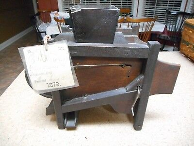 1879 Patent Model Grain Grader and Separator Fanning mill n salesman sample farm