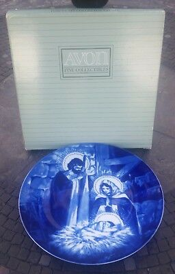 Avon 'THE HOLY FAMILY' Porcelain Collector's Plate - VINTAGE 1991 - EXCELLENT!!!