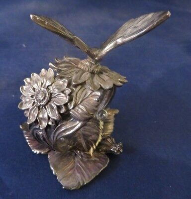 Reed & Barton Silverplate 1824 Collection Figural Butterfly Napkin Ring