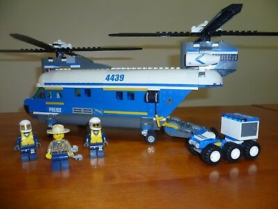 Lego City Police Heavy Lift Helicopter 4439 - The Best Helicopter Of ...