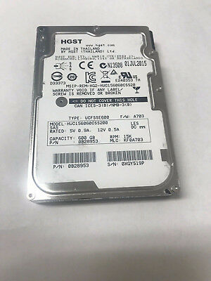 NEW HUC156060CSS200 HITACHI 600Gb 15K 2 5'' Hdd For Quanta D51B-1U