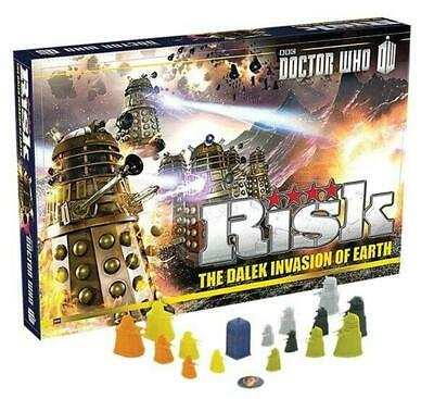Risk - Doctor Who Edition - Winning Moves Free Shipping!