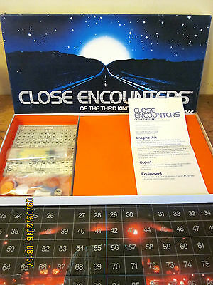 ~CLOSE ENCOUNTERS OF THE THIRD KIND BOARD GAME by TOLTOYS - COMPLETE & GC~