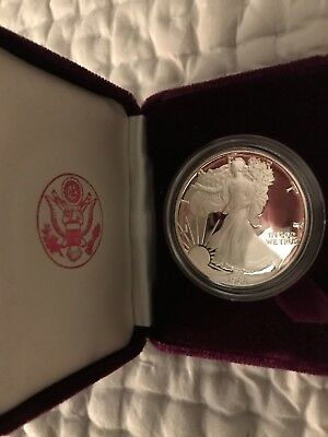 American Eagle One Ounce1983 Proof Silver Bullion Liberty Coin