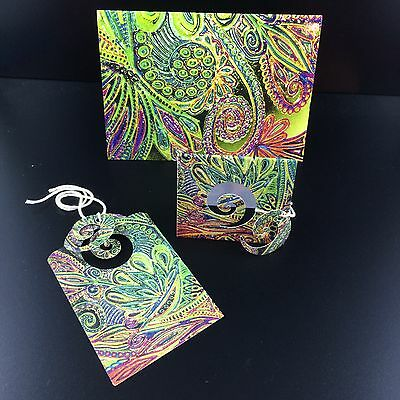 Rainbow Card Set, Small Card, Mini Card & Tag, Matching Design by Amie Shalna