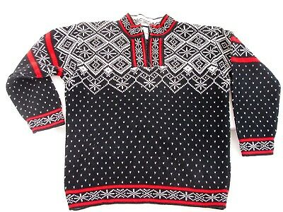 HANNAH ANDERSON Boys Sweater Size 6 Christmas Holiday 100% Cotton Norwegian