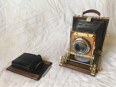 Vintage 4x5 Wooden Field Camera, Works Great.