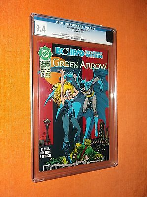 GREEN ARROW Annual #5 CGC 9.4 {Eclipso:  The Darkness Within} - Well-centered!!!