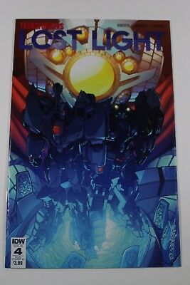 Transformers Lost Light IDW Issue 4 Sub Cover B by Alex Milne & Josh Perez