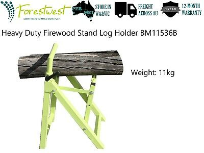 Heavy Duty Chainsaw Holder Stand Firewood Stand Log Holder Saw Horse | BM11536B