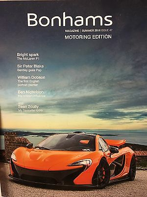 Bonhams Magazine Motoring Edition McLaren F1 Summer 2016 Quail Lodge Scottsdale