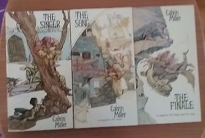 As New  Calvin Miller The SINGER - The SONG - The FINALE TRILOGY