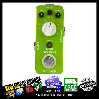 Mooer Mod Factory Micro Guitar Effect Pedal