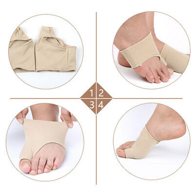 Foot Health Care Bunion Pads Spandex Feet Cushions Pro Toe Protection Cover