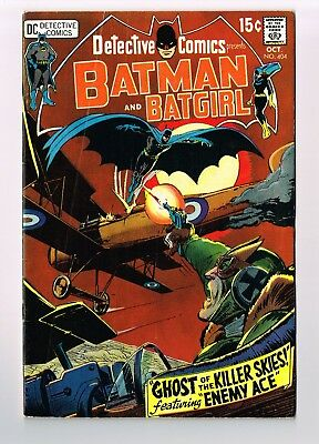 DETECTIVE COMICS #404 Enemy Ace Neal Adams Art Batgirl Solo Gil Kane 1970 5.5