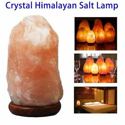 Pink 5-7KG Himalayan Rock Salt Lamp Therapeutic Air Ionizer Lamp Christmas Gift
