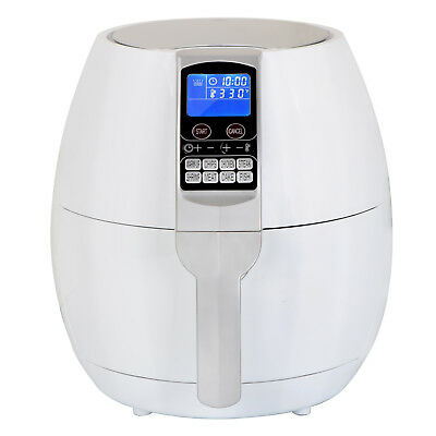 Electric Digital Air Fryer For Healthy Fried Food, 3.7 Quart Capacity, 8 Presets
