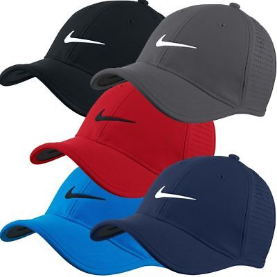 Nike 2017 Golf Dri-Fit Ultralight Tour Perforated Adjustable Mens Golf Cap