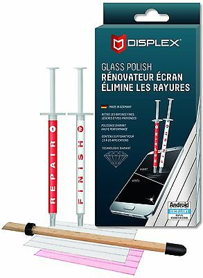 displex réparateur de rayures sur smartphone-glass repair polish-polywatxh