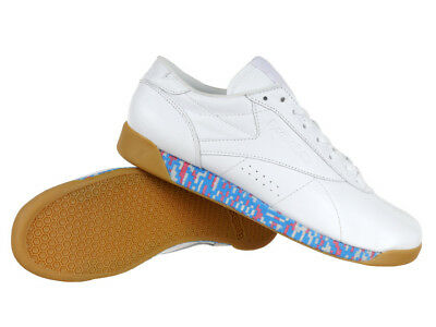 475f2d500f8b75 Reebok Classic Freestyle Low Old Meets New Women s White Trainers Leather  Shoes