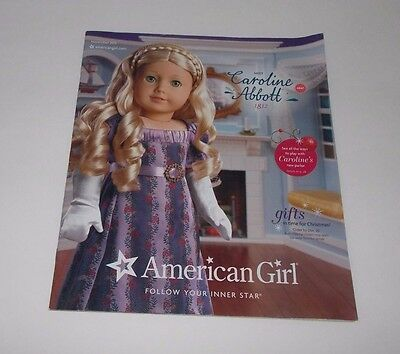 American Girl Catalog November 2012 Meet Caroline Abbott