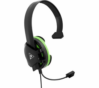 TURTLE BEACH Recon Chat Gaming Headset - Black & Green - Currys