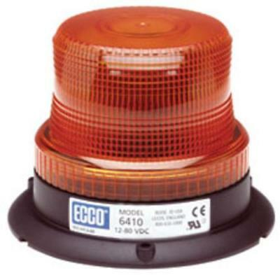 "Ecco 81742 Low Intensity Strobe Light, 3.8"", Amber"