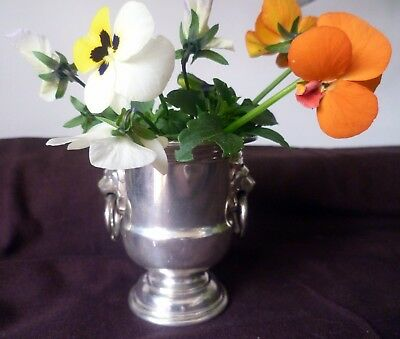Viners Sheffield Silver Plate Miniature Urn for Posies / Toothpicks / Preserves