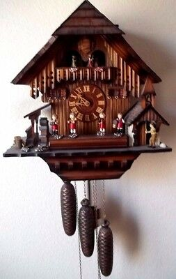 Expensive German Musical (Edelweiss) Coo Coo Clock, needs work