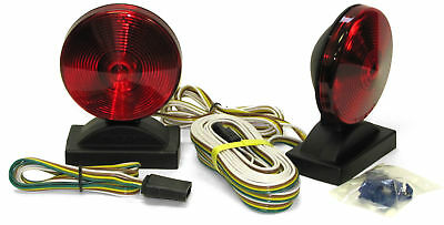 Peterson V555 Magnetic Base Towing Light Kit, Red