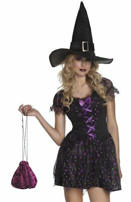 Boland Ladies Fancy Dress Bag Pouch - Black, Red or Purple!