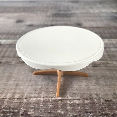 Sylvanian Families RARE Wedding Furniture Spares   White Guest Round Table
