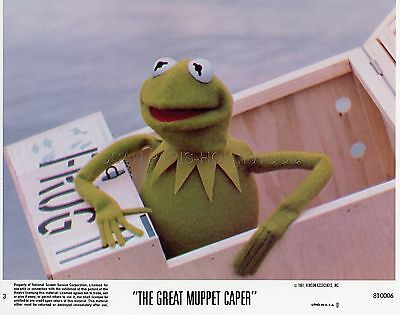 Jim Henson The Muppet Show The Great Muppet Caper 1981 Vintage Lobby Card #1