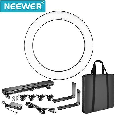 """Neewer DVR-160TVC 19"""" Outer 3200-5600K SMD LED Ring Light Used Once"""