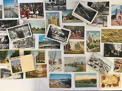 Large Lot of Vintage Antique Post Cards 100+ Various Locations