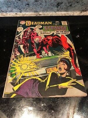 STRANGE ADVENTURES #214 DC Comics 1968 DEADMAN