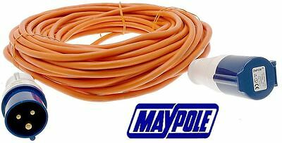 Maypole 25 Metre 230V Mains Extension Hook Ups For Caravan And Motorhome