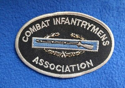 COMBAT INFANTRYMENS ASSOCIATION BADGE CIB US ARMY  Military Veteran Biker Patch