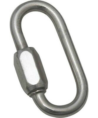 """Baron 7350ST-3/16 Quick Link, Stainless Steel, 3/16"""""""