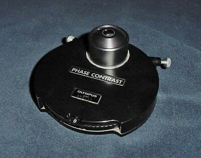 Olympus BH2 - BHS microscope phase contrast condenser