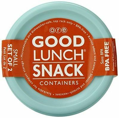 Sugarbooger Good Lunch Small Snack Container, Retro Robot, 2 Count New