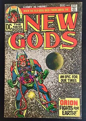 Vintage 1971 New Gods Comic Book March #1 DC Comics
