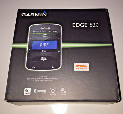 Garmin Edge 520 Bluetooth Bike Bicycle Cycling GPS