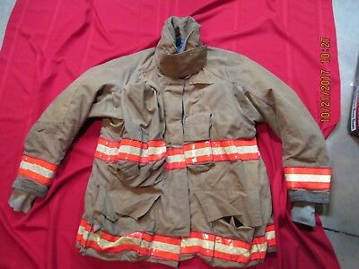 Cairns RS1 Firefighter Turnout Bunker JACKET Coat 46 Chest x 32 Length - 2002