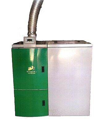 NEW Woodpecker WOOD PELLET BOILER - Model 25  (Factory Crated)