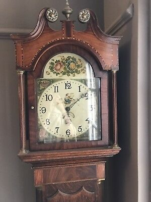 * Statement GRANDFATHER CLOCK Longcase Mahogany? in Need of a New Home *